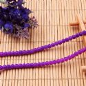 Beads, Glass, Royal purple , Round shape, Diameter 4mm, 40 Beads, [BHB0120]